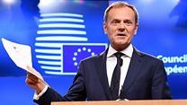Tusk: 'We already miss you'