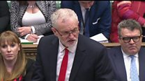 Brexit direction is 'reckless' - Corbyn