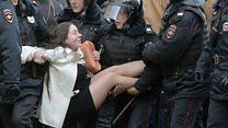 История одной из главных фотографий московских протестов от первого лица
