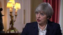 May wants 'frictionless' Irish border