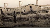 Pictures of Jersey's WW1 prisoner of war camp