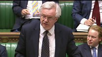 Davis sets out Great Repeal Bill's aims