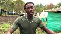 The Farc fighter rapping for peace
