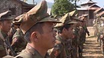 बर्मा में लोकतांत्रिक सरकार का एक साल