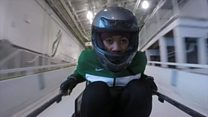 La première équipe africaine de bobsleigh