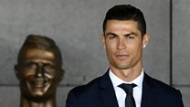 "Ronaldo sculptor: ""It's not my fault"""