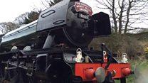 Flying Scotsman reopens Settle-Carlisle