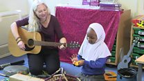 Music helps seven-year-old to speak