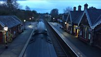 First train laves Appleby station