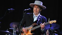 Imagining Bob Dylan's trip to accept his Nobel Prize