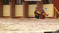 Australians battle rising floodwaters