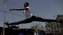 Kenya's ballet boy Joel Kioko