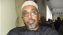 Shariif Xassan Sheekh Aadan oo ka digay abaaraha.