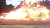 กองไฟระเบิดในงานคาร์นิวัลที่ฝรั่งเศส บาดเจ็บ 18 ราย