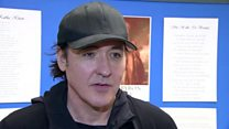 Holywood star Cusack glad to be in Belfast