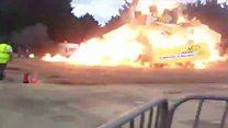 Explosão em acendimento de fogueira deixa vários feridos na França