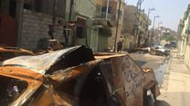 Stopping car bombs in Mosul