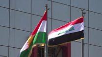 """كركوك.. """"حرب الأعلام"""" تشعل بين بغداد وأربيل"""
