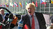Boris Johnson: Gibraltar 'cannot change'