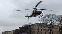 Взрыв в Петербурге: видео очевидцев