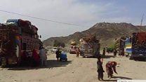 له پاکستانه د افغان کډوالو د ستنېدو بهير بيا پيل شو
