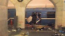 เพิ่มเติมเหตุระเบิดในนครเซนต์ปีเตอร์สเบิร์ก
