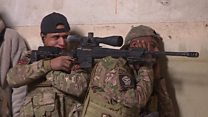Iraqi troops hunt IS snipers in Mosul