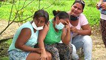 دمار كبير في مدينة موكوا الكولومبية بسبب الانهيارات الأرضية