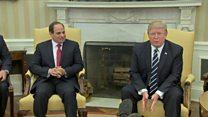 Trump says Egypt's Sisi 'very close to me'