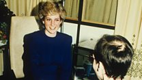 Princess Diana's Handshake with Aids Patient