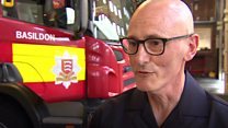 Fit firefighter's shock heart attack