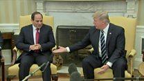 ترامب يؤكد دعم واشنطن القوي للقاهرة