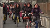 Bike battles: China's fight for street space