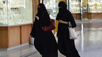 Saudi women in 'silent walk' protest