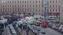 Đánh bom ở metro St Petersburg