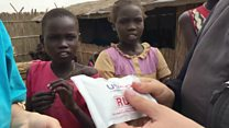 How peanut paste is saving kids' lives in South Sudan