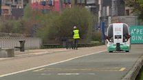 London: Sürücüsüz miniavtobusun sınaqları