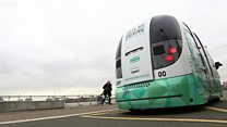 Watch: Driverless shuttle bus to be tested by public in London