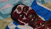 African textile art on show in Paris