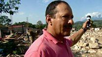 """""""Yo era el único que tenía linterna entre las tinieblas"""": un vecino de Mocoa cuenta cómo se salvó la trágica noche del deslave"""