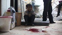 ТВ-новости: совбез ООН обсуждает химическую атаку в Сирии