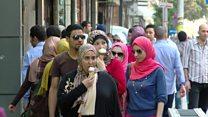 حملة تناهض ظاهرة التحرش الجنسي في مصر