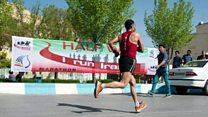 اولین دوی ماراتن بین المللی تهران