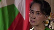 سو تشي: لا توجد حملة تطهير للأقلية المسلمة في ميانمار