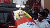 ஜெயலலிதாவின் சடல பொம்மையை வைத்து பிரச்சாரம்