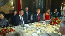 Trump jokes with Xi about China talks