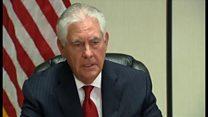 米国務長官、シリア大統領退陣の必要性に言及