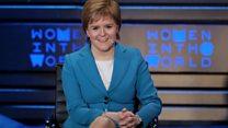 Nicola Sturgeon praises Hillary Clinton
