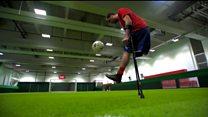 """Футболіст без ноги грає в """"Арсеналі"""""""