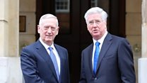 Defence Secretary: We 'fully support' US action